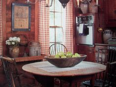 In each chapter you will see how other Prim lovers throughout America have used country furniture and accessories to make personal choices. Primitive style room by room. Areas covered are Living room, Dining room, Kitchen, Bedroom, Bathroom, Hall and Porch. | eBay!