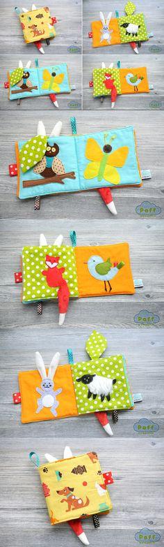 Baby quiet book, felt book, #quietbook