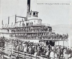 History of Kelowna with pictures from S.Sicamous, built 1914 and the C. linkup Kelowna for rail service on September 1925 Canadian History, Local History, Canadian Pacific Railway, Boat Plans, Water Crafts, Historical Photos, British Columbia, Old Photos, Vancouver