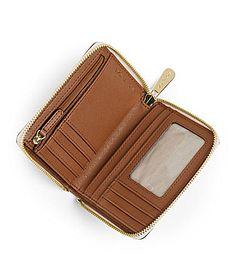 MICHAEL Michael Kors Signature Zip Around Wallet #Dillards