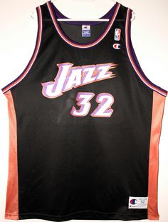 Champion NBA Basketball Utah Jazz #32 Karl Malone Trikot/Jersey Size 52 - Größe XXL - 89,90€ #nba #basketball #trikot #jersey #ebay #sport #fitness #fanartikel #merchandise #usa #america #fashion #mode #collectable #memorabilia #allbigeverything