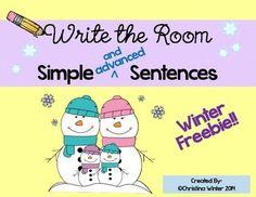 Write The Room~ Winter Free