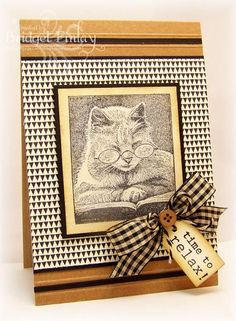 LOVEFEST2014G Do Kitties Retire? by bfinlay - Cards and Paper Crafts at Splitcoaststampers