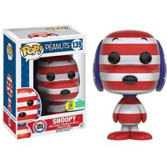 Funko Pop! Snoopy Rock the Vote SDCC 2016 Exclusive (SDCC Sticker)