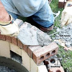 How to Build a DIY Fire Pit — The Family Handyman Fire Pit Base, Fire Pit Sphere, Cheap Fire Pit, Easy Fire Pit, How To Build A Fire Pit, Wood Fire Pit, Concrete Fire Pits, Camping Fire Pit, Fire Pit Backyard