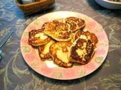 Potato cakes like mom used to make -minus the onion.  You could jazz them up with cheese I suppose, but I like them with plain old salt & pepper!