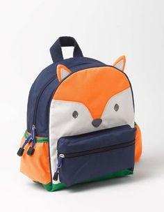 Orange Fox Backpack Boden