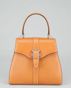 Gucci Vintage Tan Leather Tote