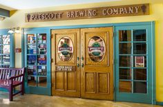 Prescott Brewing Company, Prescott.  They have been around for a long time, and make a LOT of good beer. But if you go there, keep in mind that it's a restaurant right downtown on the square, so it does get BUSY (and loud).