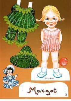 Paper dolls set of 3 by Guido Odin