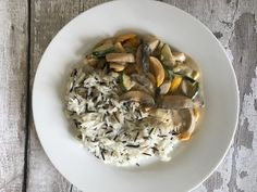 Vegetable Stroganoff made using Alpro Cream. Vegan and super tasty! Recipe on the Canny Food blog.