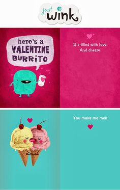 Make your own adorable Valentine's Day Cards with @Winky Betu Cards #spon