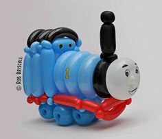 My Daily Balloon: 25th July - Thomas the Tank Engine