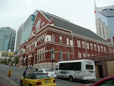 The Ryman Auditorium in Nashville was the home of the Grand Ole Opry for many years.