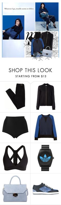 """""""I wish I had a river so long I'd teach my feet to fly"""" by winfreda ❤ liked on Polyvore featuring Whiteley, Prada, American Eagle Outfitters, Closed, Monki, rag & bone, Roxy, adidas Originals, Väska and Jimmy Choo"""
