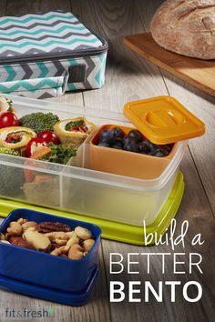 Our Bento Box is perfect for you and your children on the go! Insulated and stylish, these containers will make lunch fun and healthy. Browse the full selection at www.fit-fresh.com and choose from a variety of colors and patterns. #fitfresh