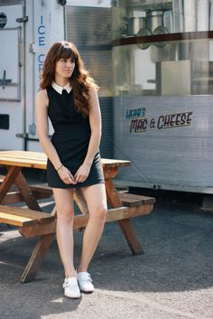 @themoptop from The Moptop shows Nasty Gal around Portland & the local food famed food carts. Pictured wearing the Nasty Gal Opposites Attract Dress #nastygalsabouttown