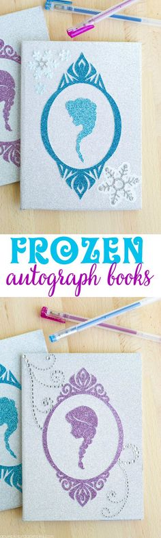 DIY Frozen Autograph Book by MichaelsMakers A Pumpkin And A Princess