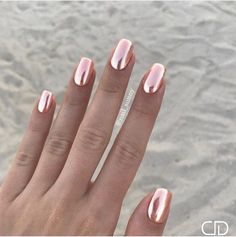 Please tell me where to get these gorgeous, mirror-like nail polishes #beautynails