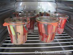 @Rhabarberkompott einkochen - Gläser einkochen