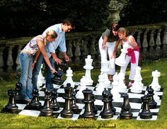 Rolly Giant Chess pieces, ultra hard wearing & eye catching, made from strong and durable UV protected and waterproof PVC. Fresco, Giant Chess, Large Backyard Landscaping, Backyard Ideas, How To Play Chess, Door Paint Colors, Chess Pieces, Lowes Home Improvements, Interactive Design