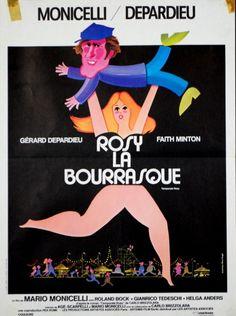 Gerard Depardieu Faith Minton Rosy LA Bourrasque Mario Monicelli 1980 40x60 | eBay