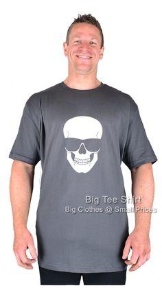 Slate BTS Chillin Skull T-Shirt 2xl 3xl 4xl 5xl 6xl 7xl 8xl (T)