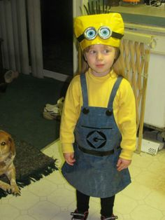 Duct Tape Minion Costume