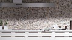 Melamine Woodline wit, Woodline Mocca, werkblad 20 mm composiet