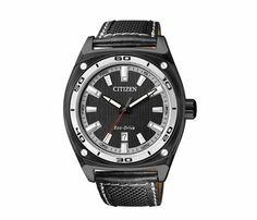 CITIZEN / Reloj Caballero Eco-Drive 60082 Piel Negro.