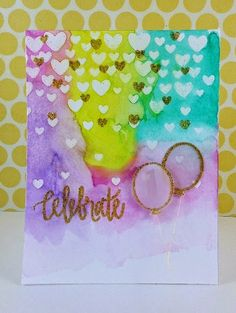 Sharp Designs: Watercolour fun using Neat & Tangled stamps