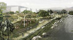 Galería de Segundo Lugar Concurso Público Internacional de Anteproyectos Parque del Río en la ciudad de Medellín - 2