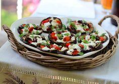 Senza Sale in Zucca: # Food: melanzane al forno con pomodorini, olive, mozzarella bufala e basilico
