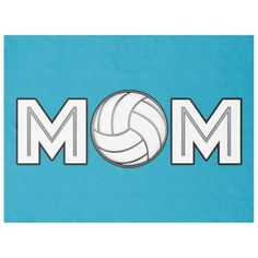 Volleyball Mom Fleece Blanket