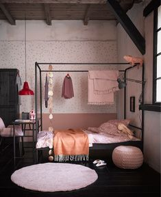 Single Black Metal Four Poster Bed by Woood Black-Four-Poster-Single-Bed-Frame. Single Black Metal Four Poster Bed by Woood Black-Four-Poster-Single-Bed-Frame. Big Bedrooms, Teenage Girl Bedrooms, Girls Bedroom, Teenage Beds, Dream Bedroom, Home Decor Bedroom, Kids Single Beds, Four Poster Bed, Poster Beds
