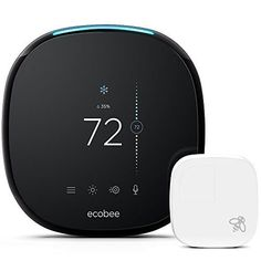 Smart Thermostat with Built-In Alexa, Room Sensor Included ecobee Amazon Echo, Alexa Compatible Devices, Mobile App, Alexa Device, Smartphone, Futuristic Technology, Technology Gadgets, Tech Gadgets, Saving Money