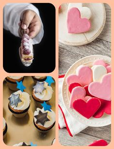 Best Icing To Decorate With Piping Frosting, Frosting Tips, Frosting Recipes, Buttercream Cake Decorating, Cake Decorating Designs, Butter Icing, Types Of Cakes, Cream Cheese Icing, Baby Shower Cakes