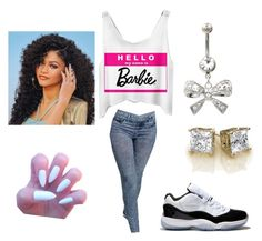 """""""Barbie"""" by alaysiaaaaaa ❤ liked on Polyvore featuring Concord"""
