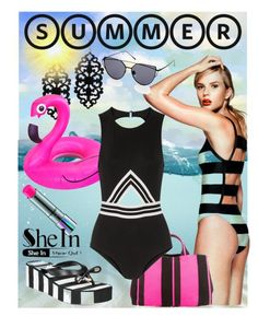"""Summer Time"" by deborah-calton ❤ liked on Polyvore featuring Kate Spade, MAC Cosmetics, Prada and Karla Colletto"
