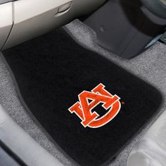"Auburn University 2-piece Embroidered Car Mats 18""x27"" - Protect your vehicle's flooring while showing your team pride. Universal fit makes it ideal for cars, trucks, SUVs, and RVs. The officially licensed mat features embroidered team logos in true team colors. Heel pad on drivers side for added durability and safety. FANMATS Series: CAREMBRTeam Series: Auburn UniversityProduct Dimensions: 17""x25.5""Shipping Dimensions: 26""x17""x0.5"". Gifts > Licensed Gifts > Ncaa > All Colleges > Auburn…"