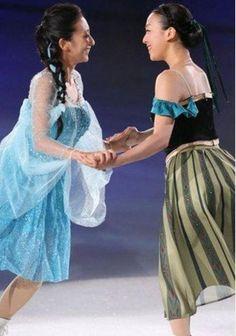 With Mai Asada : THE ICE