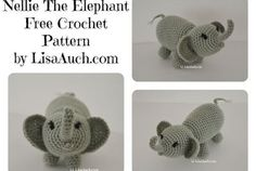 Crochet Elephant A Free Crochet Elephant Pattern ( Ami Zoo Stuffed Animal)