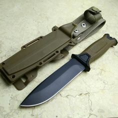Top military Black or Brown Hunting Fixed Knives,420J2 Blade