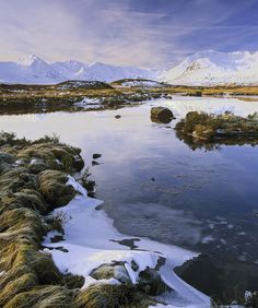 Ian Cameron - Winter Loch Na Stainge, Rannoch Moor, Scotland