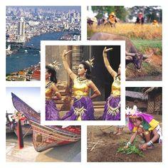 Taïlande, information générale sur le pays du sourire #Thaïlande #voyage #Asie #tourisme