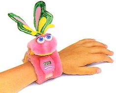 1986 HASBRO SOFTIES WATCHIMALS PINK BUTTERFLY plush watch - I had one!
