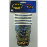 Batman Party Cups - 8 Pack for sale online Batman Party Supplies, Kids Party Supplies, Wholesale Balloons, Disney Balloons, Party Suppliers, Wholesale Party Supplies, Party Cups, Party Tableware, Birthday Balloons