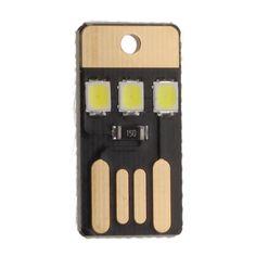 2017 High Quality USB Lamp Computer light Camping light Ultra-small Ultra-thin Mini USB Lamp Mobile power LED Small Night Light