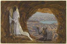 Jesus Tempted in the Wilderness (Jésus tenté dans le désert) : James Tissot : Free Download & Streaming : Internet Archive