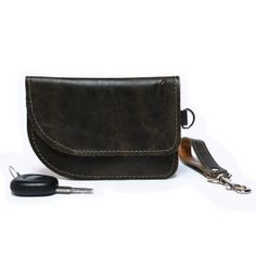 Stylish handmade leather key case leather by BrandiaManufacture, $27.00
